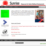 Sunrise Resources website