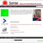 Sunrise Resources website