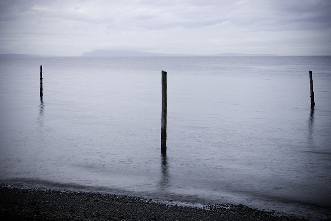 Three Poles at Qualicum Beach
