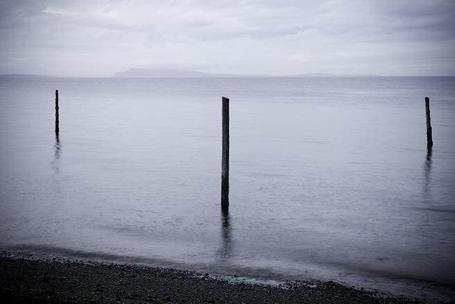 Three Poles at Qualicum Beach