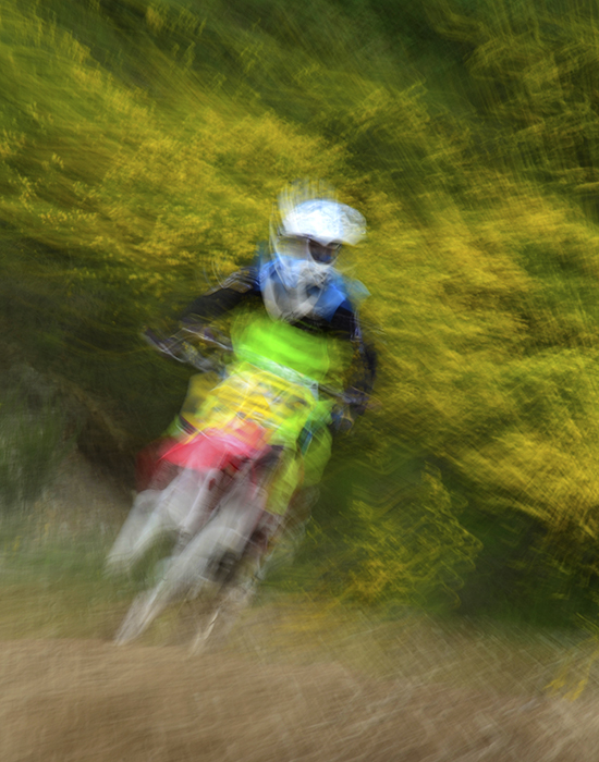 Campbell River, Fathers Day MotoCross Event, artsy, Photograph