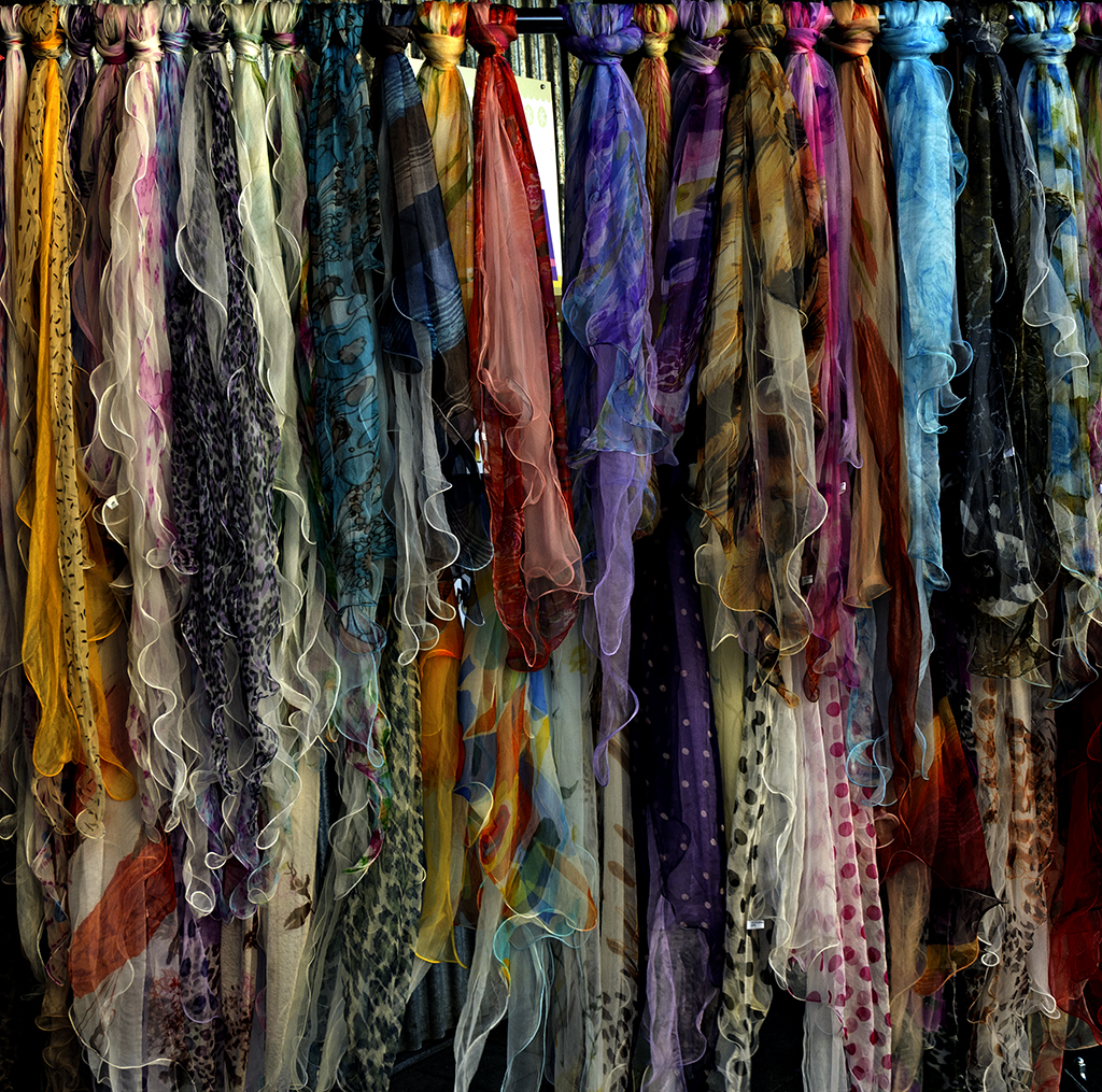 Colour Full Scarves
