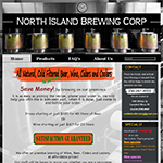 North Island Brewing Website